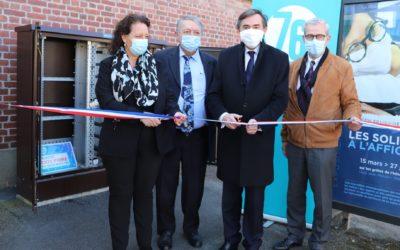 Inauguration de la 100 000e prise optique en Seine-Maritime !